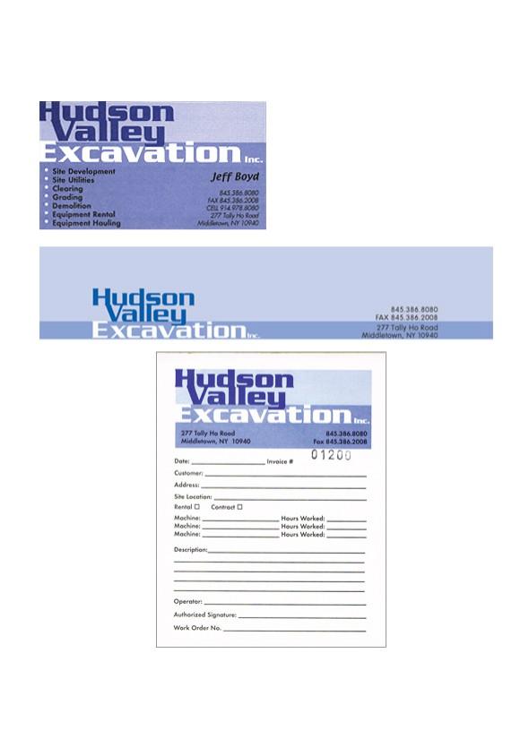 Logo, Business Card, Letterhead, Job Tickets
