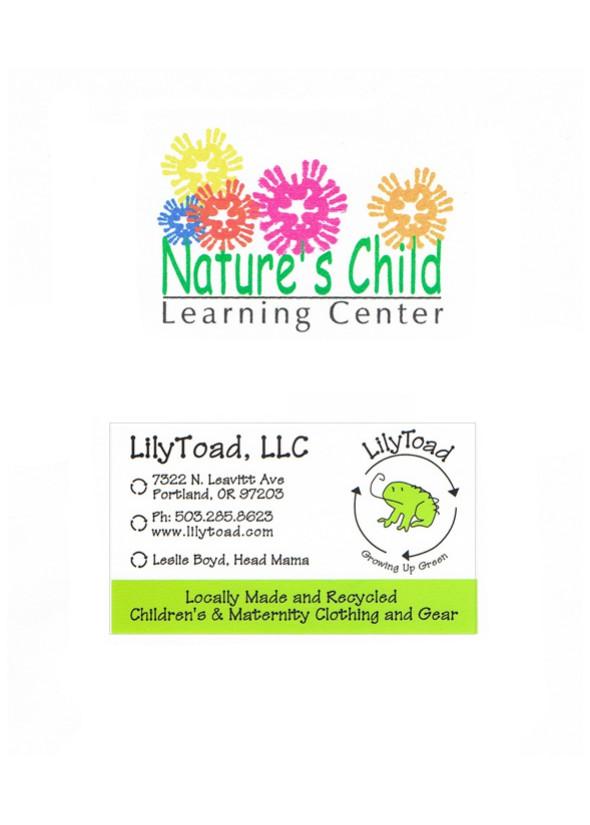Logos, Business card